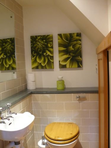 WC, downstairs, off kitchen