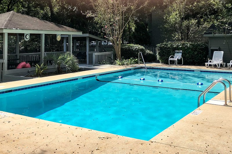 You'll have access to the community pool for refreshing afternoon swims.