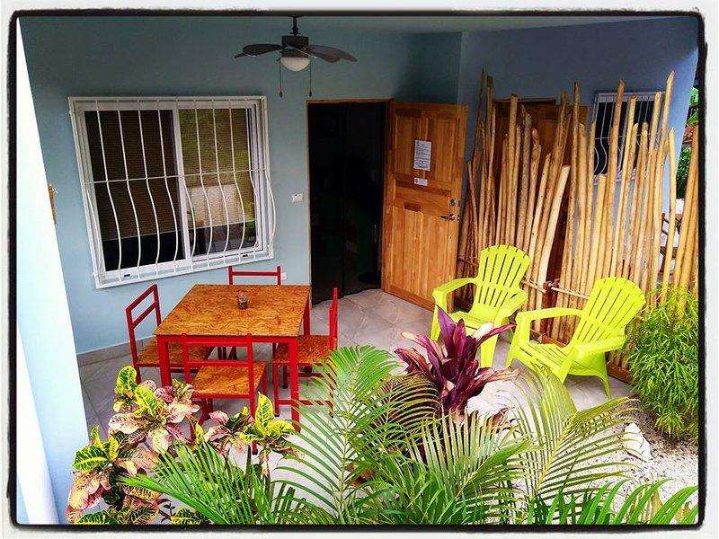 Terrasse extérieure privée - Ceiba RED Room