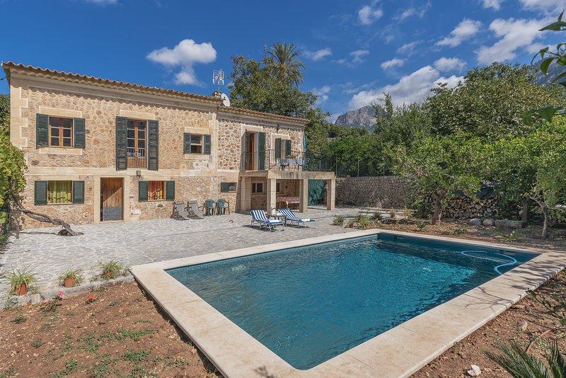 Villa Florida, holiday rental in Sa Calobra