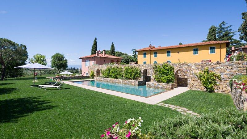 Luxury villa Fiorenza, holiday rental in Impruneta