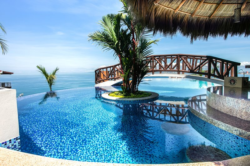 The best rooftop view pool in Puerto Vallarta