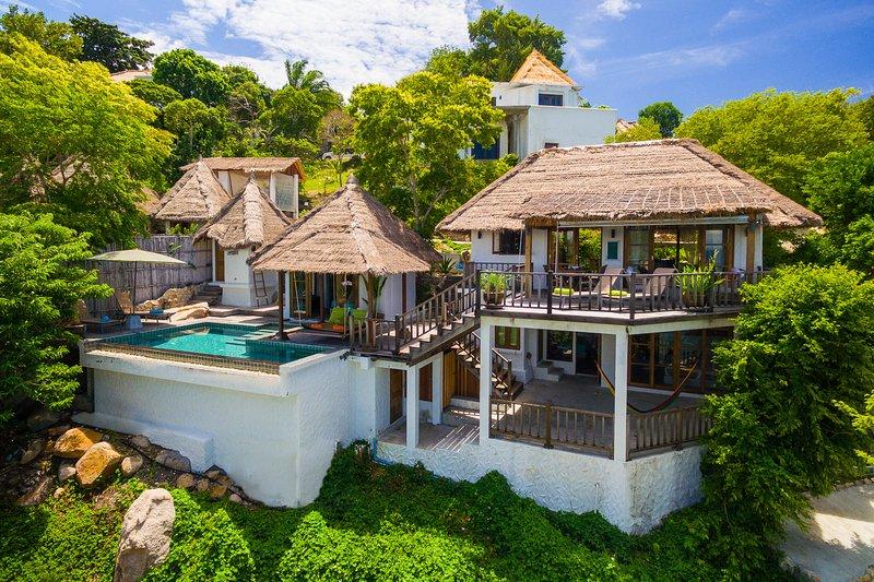 Holiday rental villa with pool and 3 bedrooms in Koh Tao, aluguéis de temporada em Koh Tao
