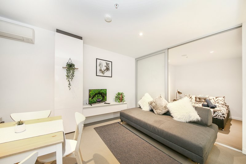 A tastefully furnished & spacious interior.