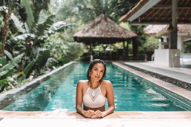 Votre propre piscine de 18m.