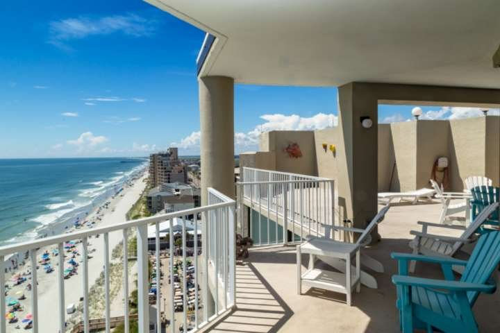 Whole Penthouse floor overlooking Garden City to the south and Surfside to the North.