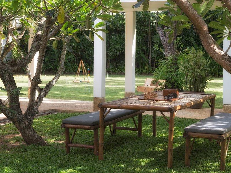 Jivana Beach Villas - Villa Ananda -  Outside activity area