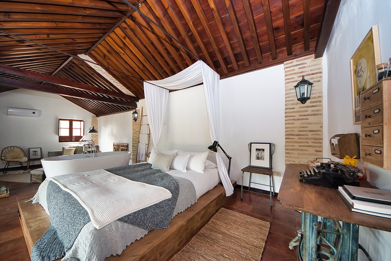 The lovers attic, vacation rental in Granada