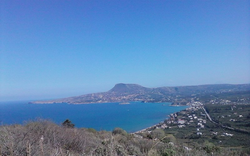 Views from Aptera Castle.  50 mintue drive.
