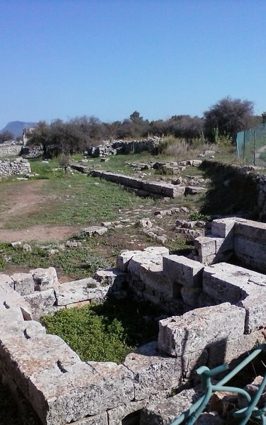 Worth a visit arcoligical site of Aptera.  50 minutes drive