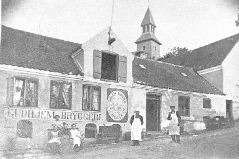 The old brewery from the start of year 1900