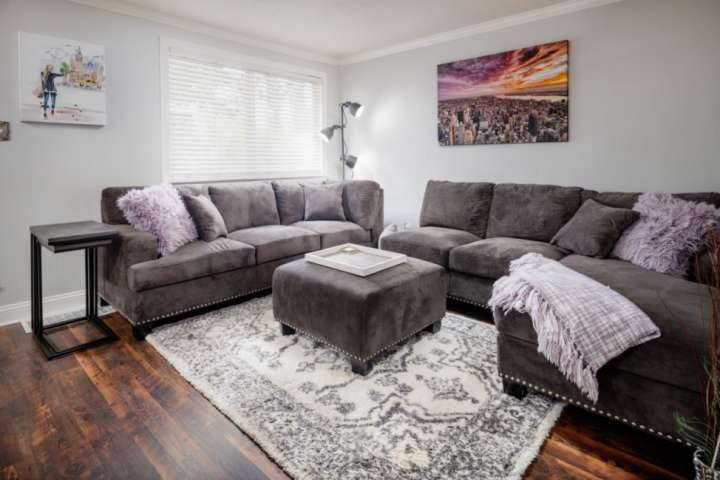 Living room with all the amenities
