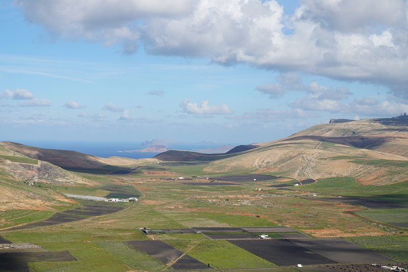 Lanzarote in the Spring