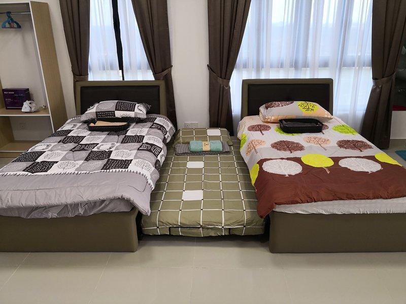 Studio Unit at Meridin Medini Legoland(Malaysia-Johor Bahru), holiday rental in Kukup