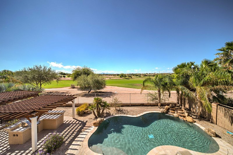 Desfrute de umas férias incríveis nesta casa para férias em Maricopa.