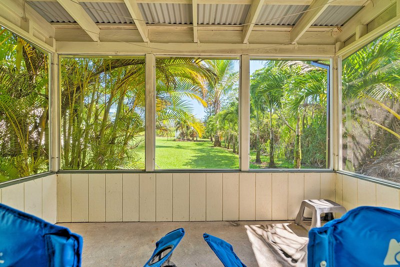 La casa vacanza con 1 camera da letto e 1 bagno in camera da letto ospita 3 persone in paradiso tropicale.