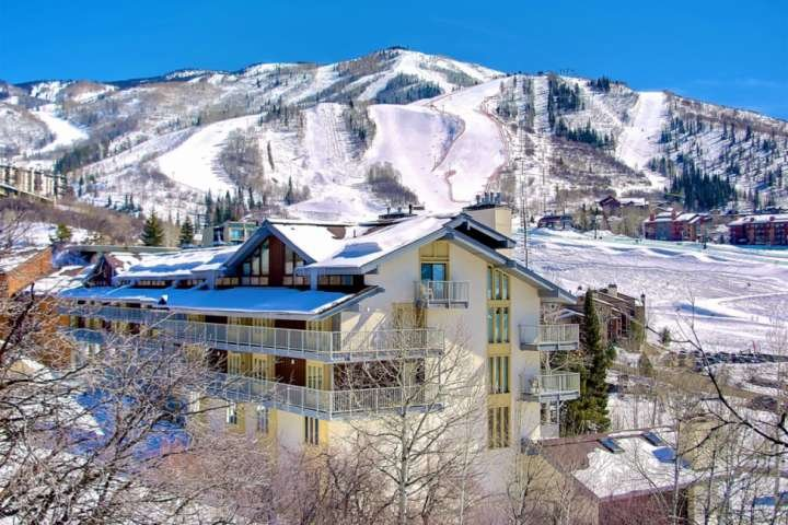 Walk out your condo right onto the slopes.