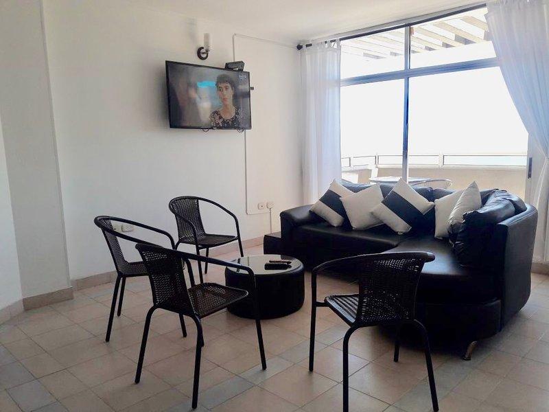Apartamento familiar amplio rodadero santa marta, alquiler de vacaciones en Santa Marta