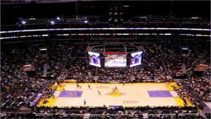 Check out a sports game at Staples Center!