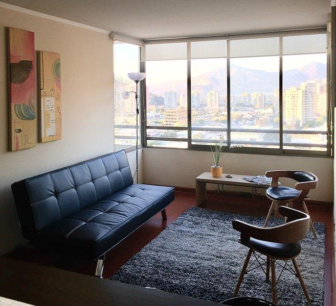 Departamento 2D 2B Barrio Bellavista, holiday rental in Lo Solar