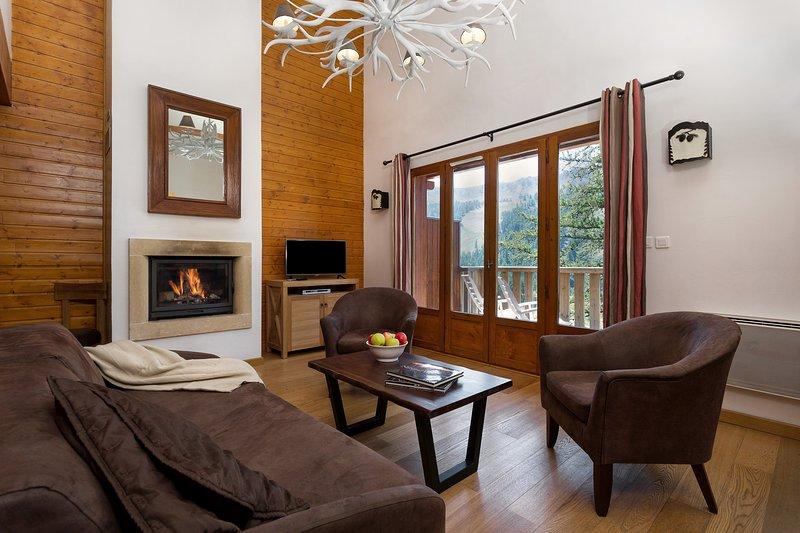 ¡Quédese en nuestro espacioso y encantador chalet en las montañas!