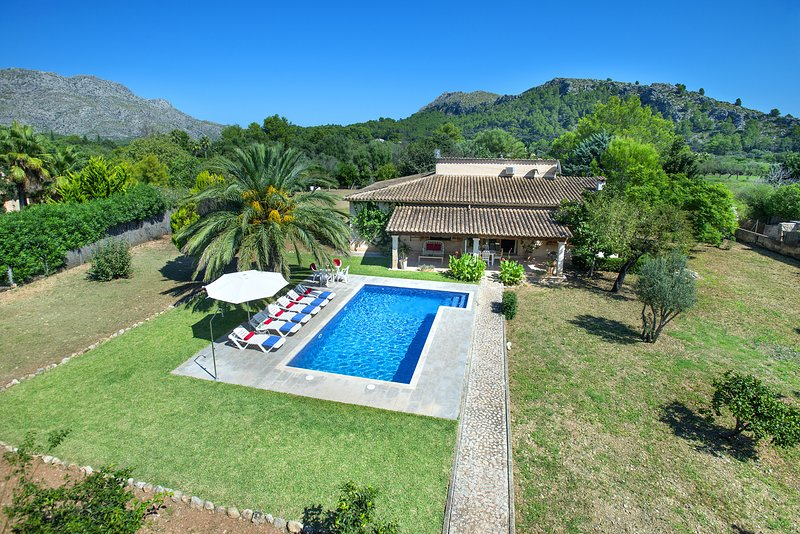Beautiful Villa Cati with Fantastic New Pool in a Beautiful Surroundings Chalet in Puerto Pollensa