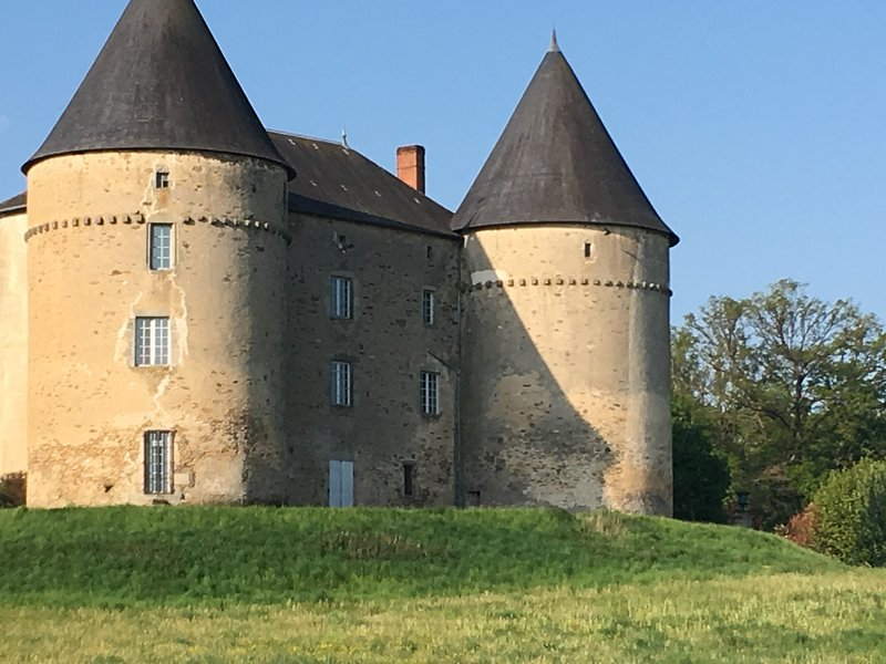 Château de Brie.. local historical Chateau which is open to the public on Sundays and Bank holidays
