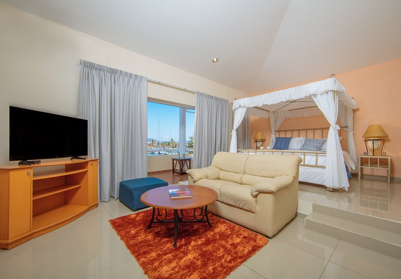 Master Bedroom with great marina view!