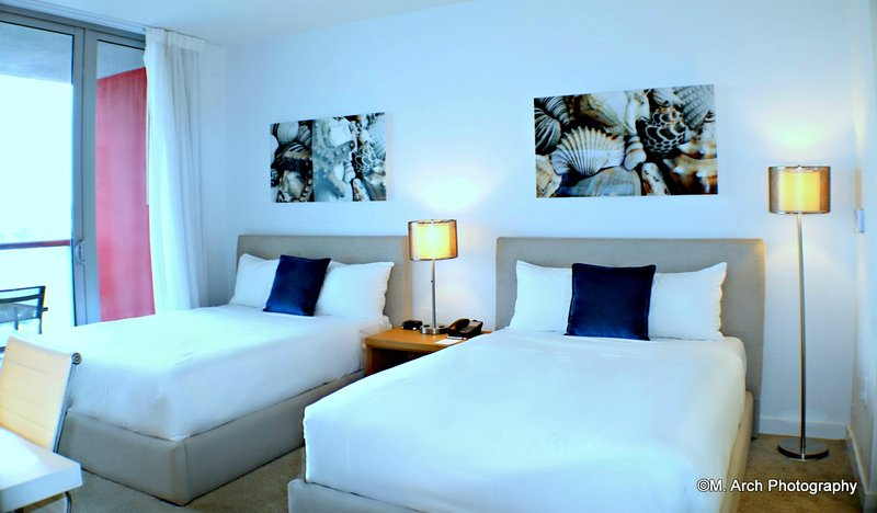 MIA.BW 407B - Deluxe room 2 Double Beds, holiday rental in Hallandale Beach