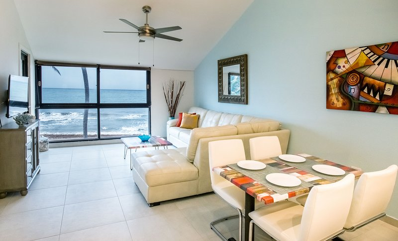 Bv103 - Amazing Beachfront Condo steps from the Sand, vacation rental in Palmas Del Mar