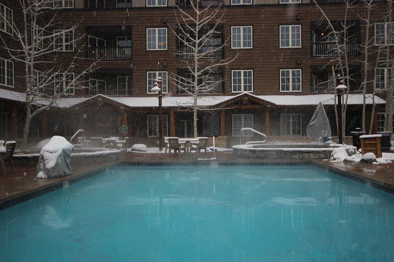 Short distance to enjoy the Dakota pool and hot tubs.