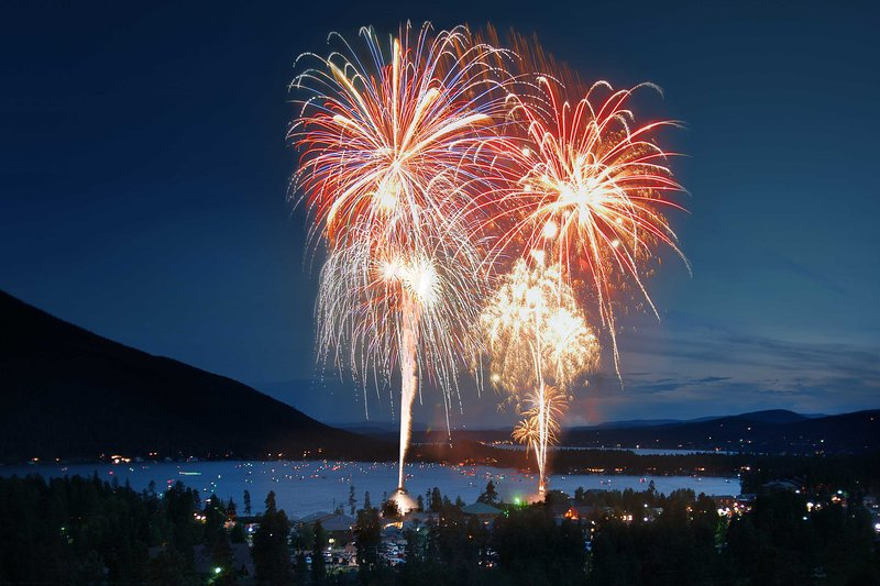 Holiday weekends offer festivals, events, fireworks, and more!