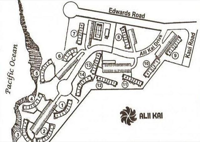 Map of Alii Kai