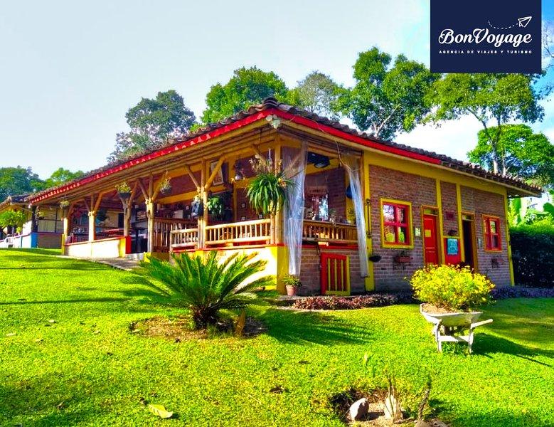 Cabaña BonVoyage Bistrea, holiday rental in Alcala