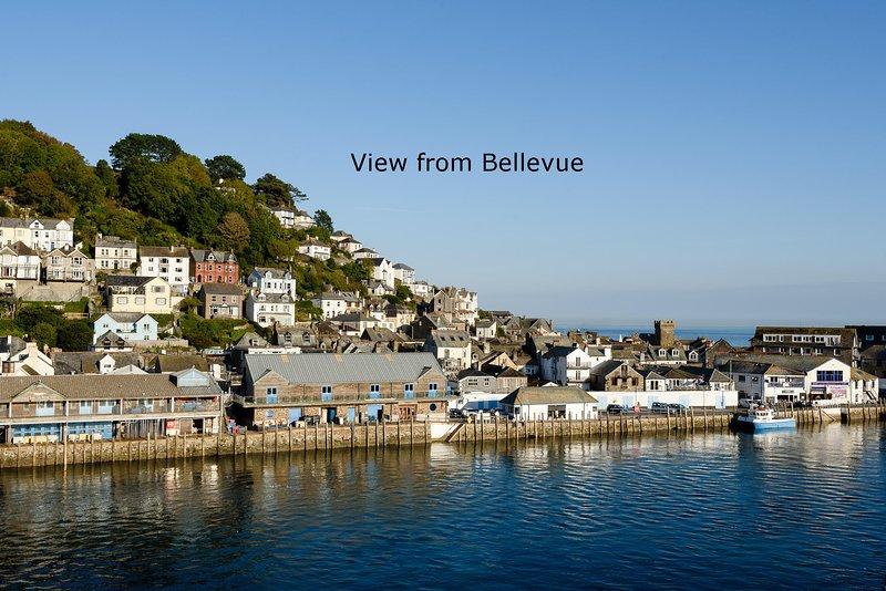 Herrliche Aussicht von Bellevue