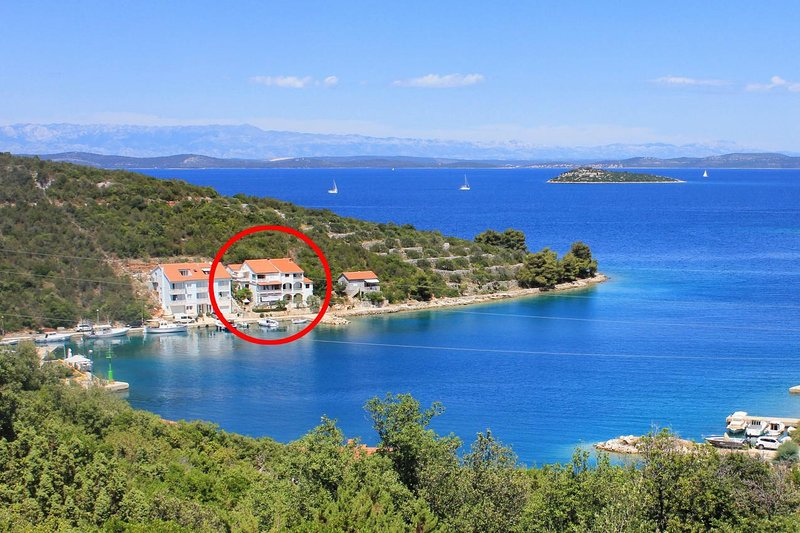 Two bedroom apartment Zaglav, Dugi otok (A-12424-a), holiday rental in Luka