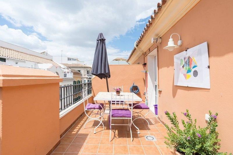 ATICO EN EL CENTRO, vacation rental in Malaga