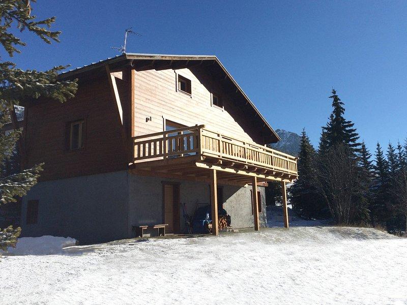 Chalet Eagle's Rock, alquiler vacacional en Montgenèvre