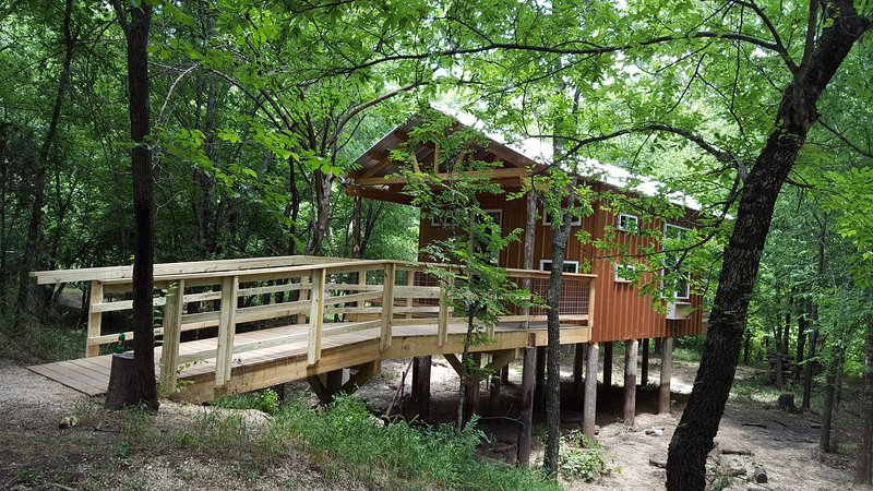 Tree house cabin/ Lincoln Lodge, holiday rental in Davis