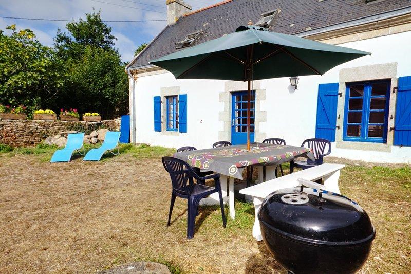 La maison aux volets bleus de Prat An Ilis au Guilvinec, alquiler vacacional en Plomeur