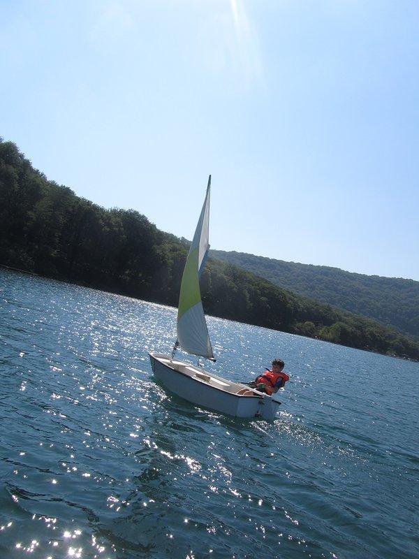 O lago de vico