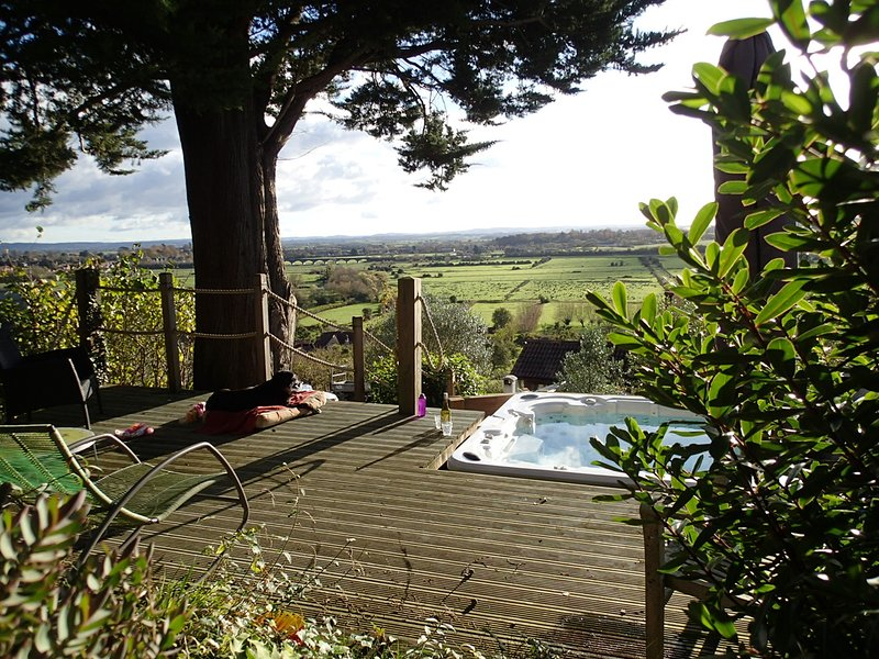 Rose Lodge, Eco Lodge with Hot Tub, casa vacanza a Langport