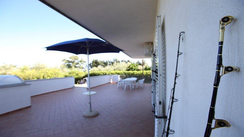 Villa Tigani: 'Dafne' Apartment, vakantiewoning in San Sostene