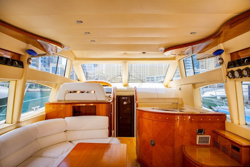 Royal Star Rentals Yacht 9 Has Air Conditioning And Secure Parking