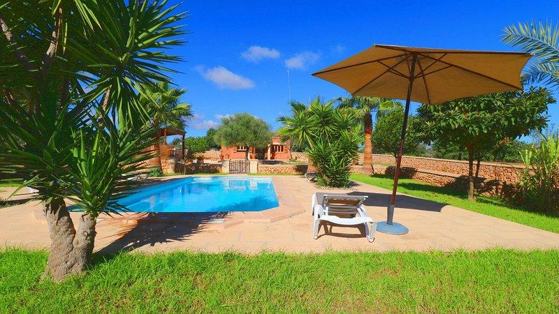 Finca Petunia, vacation rental in Campos