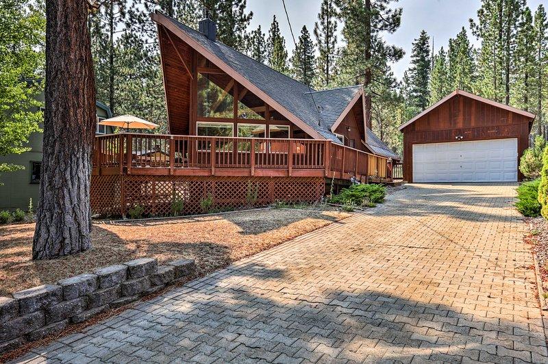 Cette maison de vacances à South Lake Tahoe est le refuge parfait de la Sierra Nevada!