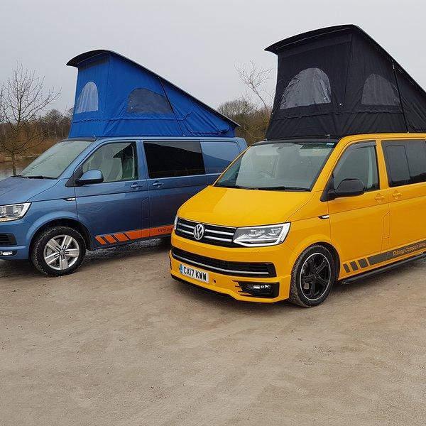 Volkswagen t6 campervan hire 4 berth, holiday rental in Long Eaton