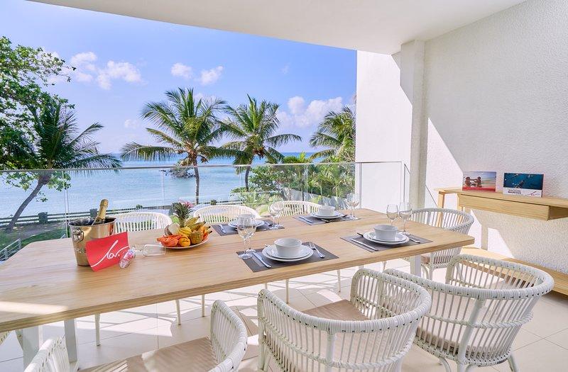 Les Estivales Beachfront Suites by Simply-Mauritius, location de vacances à Trou aux Biches
