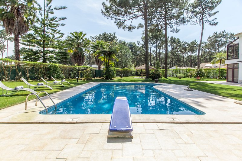 Charneca Villa Sleeps 8 with Pool and Air Con - 5681229, holiday rental in Aroeira