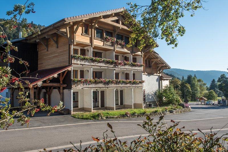 G7. Appartement premium 3/5p 42m² 1ch terrasse, holiday rental in Wildenstein
